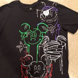 XL Disneyland Park Halloween Tee black